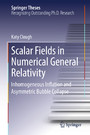 Scalar Fields in Numerical General Relativity - Inhomogeneous Inflation and Asymmetric Bubble Collapse