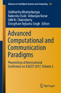 Advanced Computational and Communication Paradigms - Proceedings of International Conference on ICACCP 2017, Volume 2