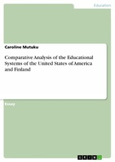 Comparative Analysis of the Educational Systems of the United States of America and Finland